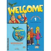 PROMOTIE : Welcome 1 Pupil ' s Book + Workbook ( editura : Express Publishing , autori : Elizabeth Gray , Virginia Evans )