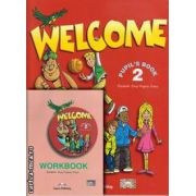 PROMOTIE : Welcome 2 Pupil ' s Book + Workbook ( editura : Express Publishing , autori : Elizabeth Gray , Virginia Evans )