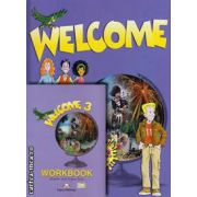 PROMOTIE : Welcome 3 Pupil ' s Book + Workbook ( editura : Express Publishing , autori : Elizabeth Gray , Virginia Evans )