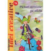 Picturi nostime pe sticla - Idei creative nr. 74 ( editura: Casa, autor: Ingrid Moras ISBN 978-606-8189-98-7 )