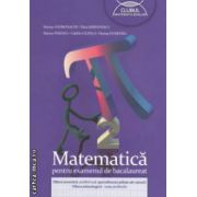 Matematica pentru examenul de bacalaureat, filiera teoretica - M2 ( editura: Art, autori: Marian Andronache, Dinu Serbanescu ISBN 978-973-124-952-0 )