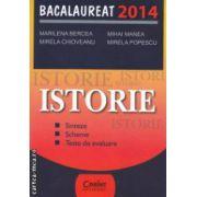 Istorie : sinteze - scheme - teste de evaluare : Bacalaureat 2014 ( editura : Corint , autori : Marilena Bercea , Mihai Manea ISBN 978-973-135-801-7 )