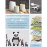 Ghidul fotografiei de produs ( editura : Casa , autor : Heidu Adnum ISBN 978-606-8189-95-6 )