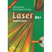 Laser B1+ Student' s Book with CD-ROM ( editura: Macmillan, autori: Malcolm Mann, Steve Taylore-Knowles ISBN 978-0-230-43367-0 )