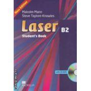 Laser B2 Student' s Book, with CD - ROM ( editura: Macmillan, autori: Malcolm Mann, Steve Taylore - Knowles ISBN 978-0-230-43382-3 )