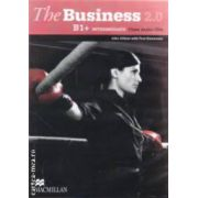 The Business 2. 0 B1+ Intermediate Class Audio CDs ( editura: Macmillan, autori: John Allison, Paul Emmerson ISBN 978-0-230-43793-7 )