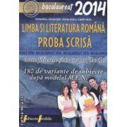 Limba si literatura romana toate filierele si toate profilurile : 180 de variante de subiecte dupa modelul M . E . N . : Bacalaureat 2014 ( editura : Paralela 45 , autori : Cosmin Borza , Cristina Erdei ISBN 978-973-47-1759-0 )