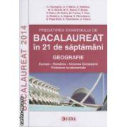 Pregatirea examenului de Bacalaureat 2014 in 21 de saptamani : Gografie ( editura : Sigma , coord . : Adrian Nedelcu ISBN 978-973-649-879-4 )