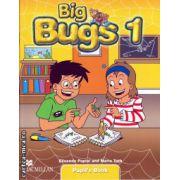 Big Bugs 1 Pupil ' s book ( editura: Macmillan, autori: Elisenda Papiol, Maria Toth, ISBN 978-1-4050-6169-8 )
