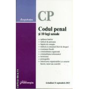 Codul penal si 10 legi uzuale ( editura : Hamangiu , ISBN 978-606-678-647-8 )
