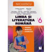 Limba si literatura romana: teorie, modele, exercitii clasa a VI - a ( editura: Niculescu, autor: Cristian Ciocaniu, Alina Ene, ISBN 978-973-748-791-9 )