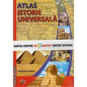 Atlas istorie universala ( editura: Steaua Nordului, autor Plopeanu Sorina, ISBN 978-606-92355-6-0 )