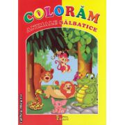 Coloram animale salbatice ( editura: Eduard, ISBN 978-606-571-149-5 )