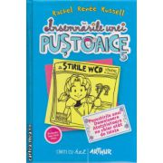 Insemnarile unei pustoaice - Vol 5  - Povestirile unei Domnisoara Atotstiutoare nu chiar atat de istete ( editura : Arthur , autor : Rachel Renne Russell , ISBN 978-606-8044-61-3 )