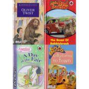 Pachet 4 carti pentru copii in limba engleza (J)