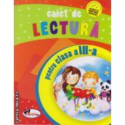 Caiet de lectura pentru clasa a III -a ( editura: Aramis, ISBN 9789736799921 )