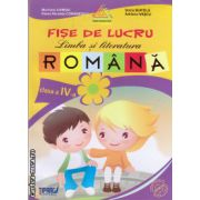 Fise de lucru Limba si literatura Romana clasa IV a ( editura: Tiparg, ISBN 978-973-735-167-8 )