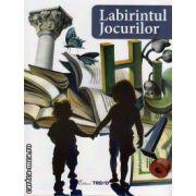 Labirintul jocurilor - Jocuri didactice pentru prescolari si scolari mici, fise de lucru, jetoane ( editura: Trend, coord: Alexandrina Dumitru, ISBN 978-606-8370-14-9 )