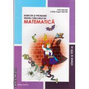 Exercitii si probleme pentru cercurile de matematica : clasa VIII - a ( editura : Nomina , autor : Petre Nachila , ISBN 978-606-535-366-4 )