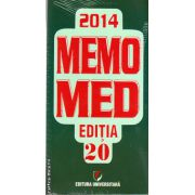 MEMOMED 2014 + Ghid farmacoterapic alopat si homeopat ( editura : Universitara ISBN 977-2069-24400-8 )