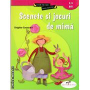 Scenete si jocuri de mima 3 - 8 ani ( editura : CD Press , autor : Brigitte Saussard , ISBN 978-606-528-018-2 )