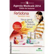 Agenda Medicala 2014 - editia de buzunar ( editura: Medicala, autor colab.: Cornel Chirita, ISBN )