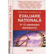 Pregatirea examenului de Evaluare Nationala in 12 saptamani - matematica ( editura: Sigma, autor: O. Badescu, ISBN 978-973-649-916-6 )