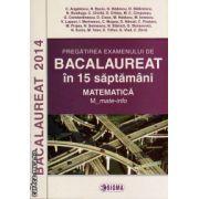Pregatirea examenului de Bacalaureat in 15 saptamani - matematica m_mate-info ( editura: Sigma, autor: C. Angelescu, ISBN 978-973-649-913-5 )