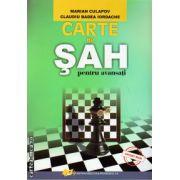 Carte de sah pentru avansati ( Editura Didactica si Pedagogica, autor: Marian Culapov, Claudiu Badea Iordache, ISBN 978-973-30-3542-8 )