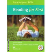 Improve Your Reading Skills for First Student's Book without key & MPO Pack ( editura: Macmillan, autor: Malcolm Mann, ISBN 978-0-230-46092-8 )