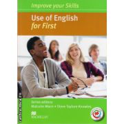 Improve Your Use of English Skills for First Student's Book without key & MPO Pack ( editura: Macmillan, autor: Malcolm Mann, ISBN 978-0-230-46187-1 )