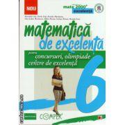 Matematica de excelenta - clasa a VI - a - pentru concursuri, olimpiade si centre de excelenta ( editura: Paralela 45, autor: Maranda Lint, ISBN 978-973-47-1754-5 )