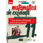 Matematica de excelenta - clasa a XI - a - volumul II analiza matematica - pentru concursuri, olimpiade si centre de excelenta ( editura: Paralela 45, autor: VasilePop, ISBN 978-973-47-1830-6 )