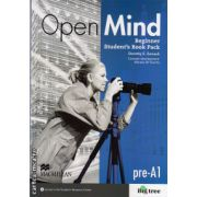 Open Mind Beginner Student's Book Pack Standard with DVD ( editura: Macmillan, autor: Dorothy E. Zemach, ISBN 978-0-230-45827-7 )
