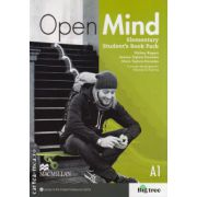 Open Mind Elementary Student's Book Pack Standard with DVD ( editura: Macmillan, autor: Mickey Rogers, ISBN 9780230458284 )