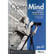 Open Mind Beginner Student's Book Pack Premium ( editura: Macmillan, autor: Dorothy E. Zemach, ISBN 978-0-230-45815-4 )
