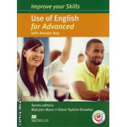 Improve your Skills Use of English Student's Book for Advanced with key & MPO Pack ( editura: Macmillan, autor: Malcolm Mann, ISBN 978-0-230-46197-0 )
