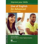 Improve your Skills Use of English Student's Book for Advanced with key ( editura: Macmillan, autor: Malcolm Mann, ISBN 978-0-230-46205-2 )
