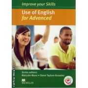 Improve your Skills Use of English Student's Book for Advanced without key & MPO Pack ( editura: Macmillan, autor: Malcolm Mann, ISBN 978-0-230-46199-4 )