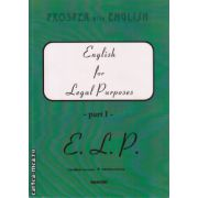 English for Legal Purposes part I ( editura : Cavallioti , autor : Mirela Bardi , ISBN 973-9463-34-7 )