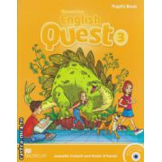 Macmillan English Quest Level 3 Pupil's Book Pack with Animated Stories and songs CD-ROM ( editura: Macmillan, autor: Jeanette Corbett, ISBN 978-0-230-45664-8 )