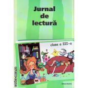 Jurnal de lectura clasa III - a ( editura : Nomina , coord : Stefan Pacearca , ISBN 9786065355453 )