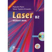 Laser B2 Student's Book + CD Rom + MPO ( editura: Macmillan, autor: Malcolm Mann, ISBN 978-0-230-47069-9 )