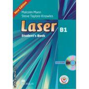 Laser B1 Student's Book + CD Rom + MPO ( editura: Macmillan, autor: Malcolm Mann, ISBN 978-0-230-47067-5 )