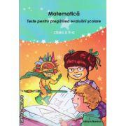 Matematica - teste pentru pregatirea evaluarii scolare clasa a II - a ( editura : Nomina , autor : Viorel George Dumitru , ISBN 978-606-535-600-9 )