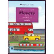 Young Learners English Skills Movers Class Audio CD ( editura: Macmillan, autor: Sandra Fox, ISBN 9780230449077 )