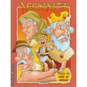Neghinita - carte de citit si colorat ( editura : Aquila , ISBN 978-973-714-613-7 )