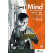 Open Mind Pre-Intermediate Student's Book Pack Premium ( editura: Macmillan, autor: Mickey Rogers, ISBN 978-0-230-45811-6 )