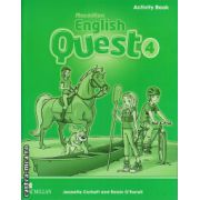 Macmillan English Quest Level 4 Activity Book ( editura: Macmillan, autor: Jeanette Corbett, ISBN 978-0-230-45674-7 )