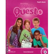 Macmillan English Quest Level 5 Pupil's Book Pack with Interactive activities CD ( editura: Macmillan, autor: Emma Mohamed, ISBN 978-0-230-45682-2 )